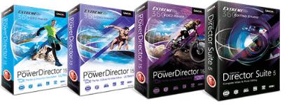 cyberlink power director versions