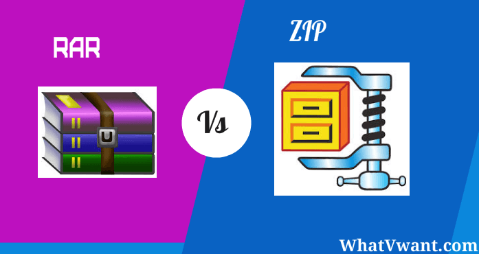 ZIP Vs RAR