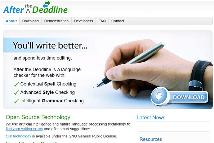 free online grammar checking website