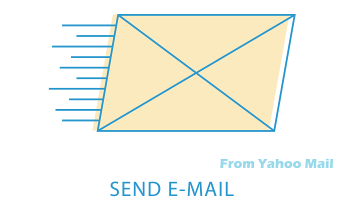 send email from yahoo mail