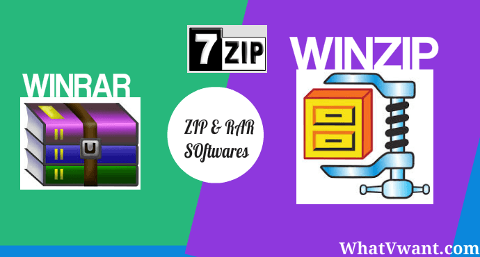 zip rar programs