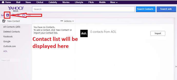How To Add, View And Edit Yahoo Mail Contacts - Whatvwant
