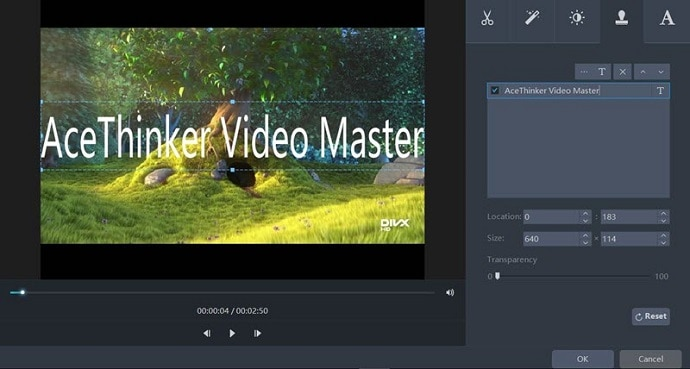 AceThinker Video master editing features