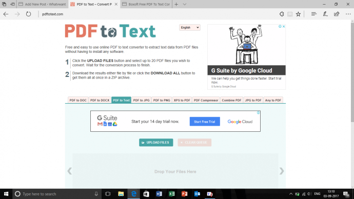 free online pdf to text converter