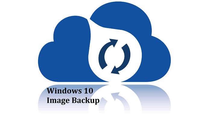 OS image backup in Windows 10