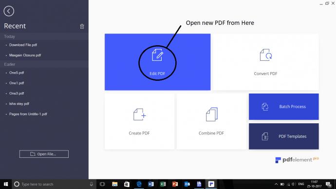 PDF to Text files