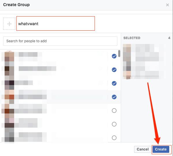 fb group chat desktop