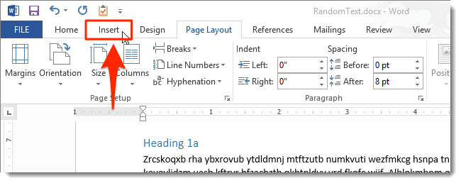 Remove Page Number microsoft word