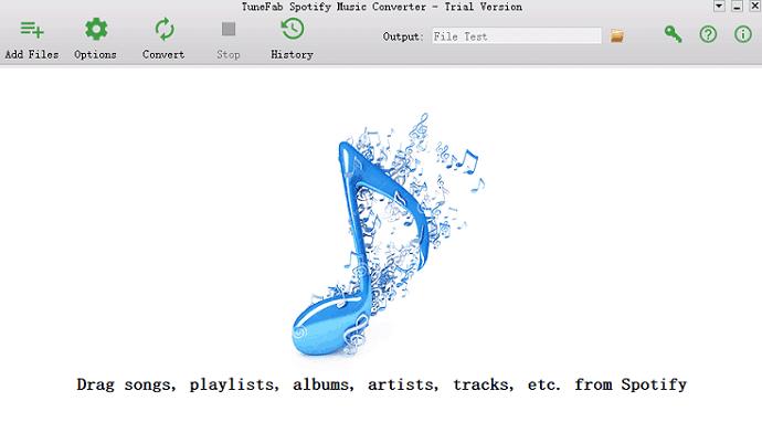 Launch TuneFab Spotify Music Converter