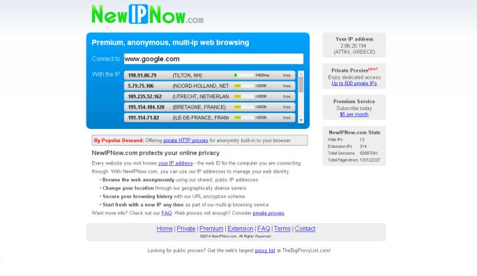 FREE HTTPS WEB PROXY LIST - sslproxies org at WI  SSL Proxy