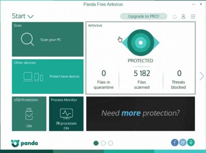 Top 5 Best Antivirus Software For Windows PC - Whatvwant